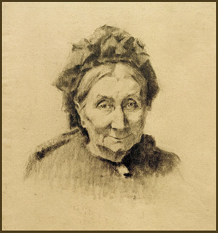 Illustration : grand-mère
